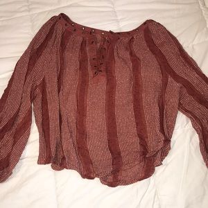 RARE Boho TOP Free people